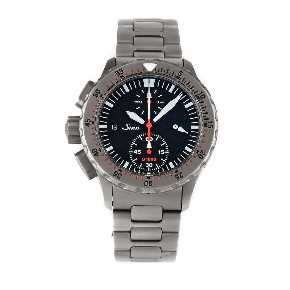 Sinn Diver cronógrafo automatic-self-wind Mens Reloj U1000 EZM 6 (Certificado) de segunda mano: Sinn: Amazon.es: Relojes