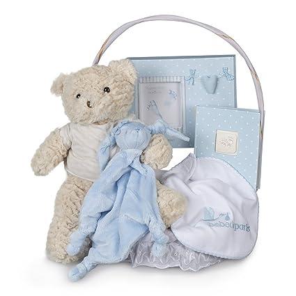 Canastilla bebé Recuerdos Esencial - cesta regalo recién nacido ...