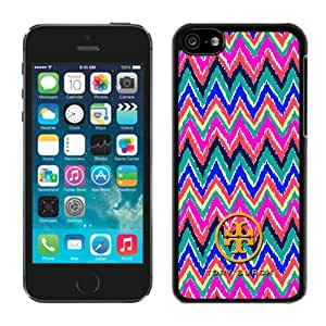 New Antiskid Designed Cover Case For iPhone 5C With Tory Burch 23 Black Phone Case