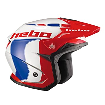 HEBO HC1115AM Trial Zone 5 Like Casco, Azul, M
