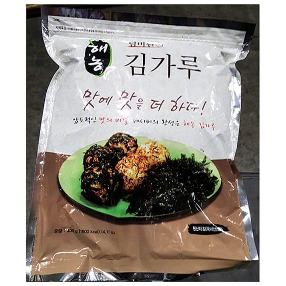Haenong Seasoned Laver Flake Cut 400g 조미김 가루, Korea