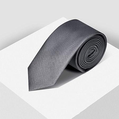 YXN Corbatas de Color Puro/Corbatas de Hombre/Camisa de Vestir de ...