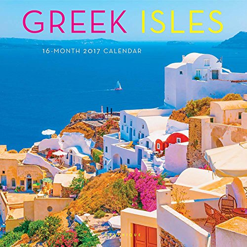 Greek Isles 2017 Wall Calendar