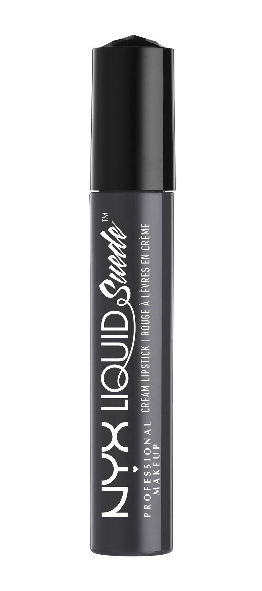 NYX Professional Makeup Liquid Suede Cream Lipstick, Stone Fox, 0.13 Fluid Ounce