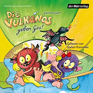 Die Vulkanos geben Gas! (Die Vulkanos 5) Hörbuch