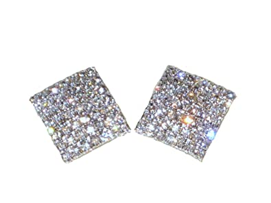 earrings product carole collection mg vintage kjl tanenbaum diamante yellow