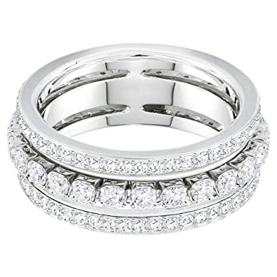 06219abbc Swarovski Further Ring 5441189 (Maat: 52): Amazon.co.uk: Jewellery