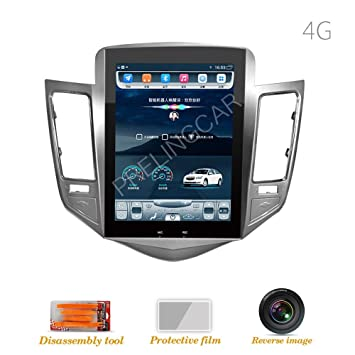 "32G ROM 10,4"" Pantalla Vertical Android Coche GPS Multimedia Video Reproductor de Radio"