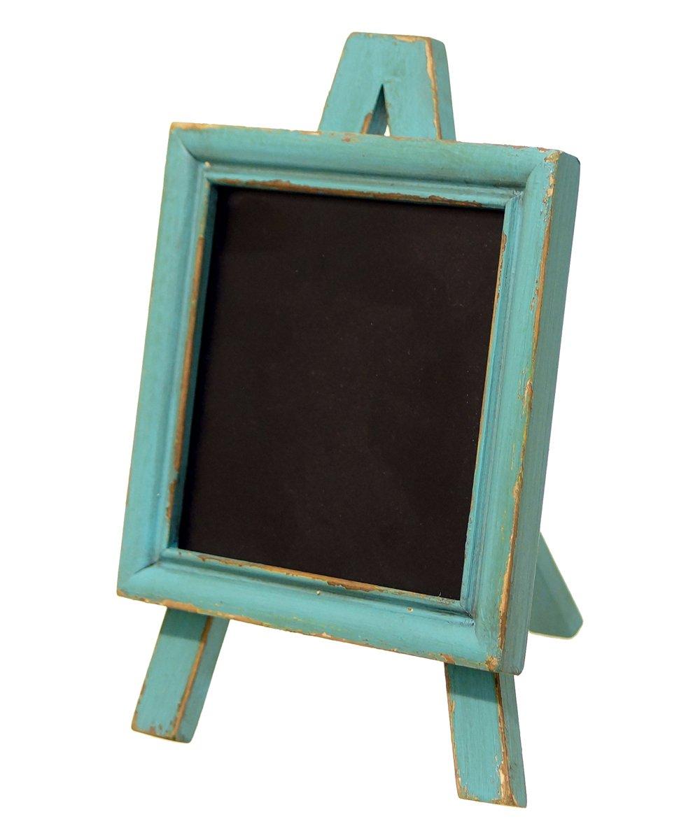 Standing Blue Easel Chalkboard by VIPSSCI
