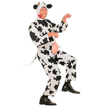 Disfraces DISFRAZ de vaca de peluche, colour blanco m 46/48 ...