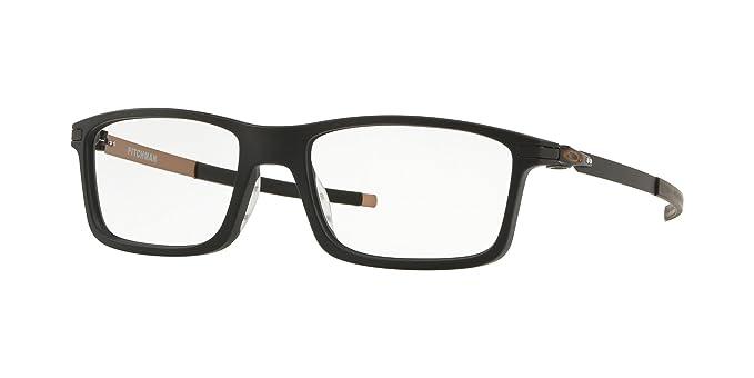 1d98f78070 Oakley PITCHMAN OX8050-805011 Eyeglasses MATTE BLACK 55mm at Amazon ...