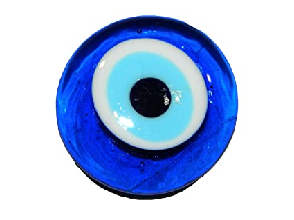 Amazon.com  4cm Lucky Evil Eye Nazar Boncuk Glass Magnet Turkish ... f0a0e01c8