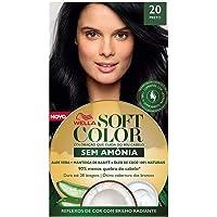 Tonalizante Creme Kit Preto 20, Soft Color