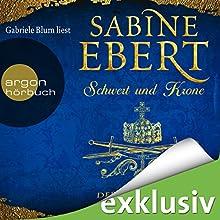 Der junge Falke (Schwert und Krone 2) Hörbuch von Sabine Ebert Gesprochen von: Gabriele Blum