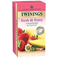 Twinings Strawberry and Mango Tea, 25 Tea Bags