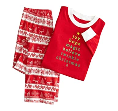 ff44b9771c71 ISSHE Matching Family Christmas Pajamas Kids Boys Adult Tree Pajama ...