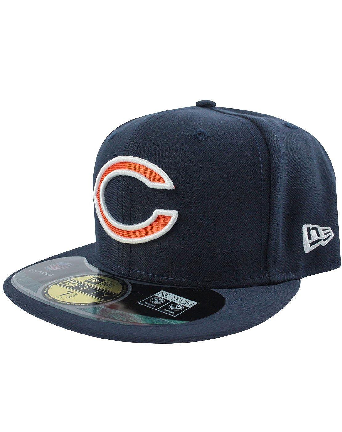 Amazon.com  New Era 59Fifty NFL Chicago Bears C Logo GSH Cap  Clothing b8e8fca29