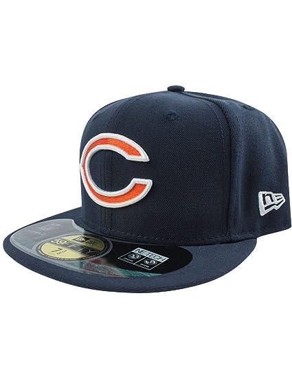 Amazon.com  New Era 59Fifty NFL Chicago Bears C Logo GSH Cap  Clothing aa237b7195a5