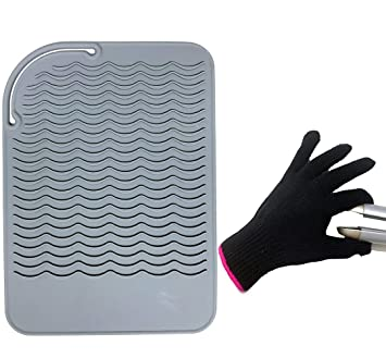 Amazon Com Flat Iron Travel Mat Curling Iron Counter Protector