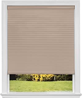 product image for Artisan Select No Tools Custom Cordless Cellular Blackout Shades, Khaki, 52 in x 72 in