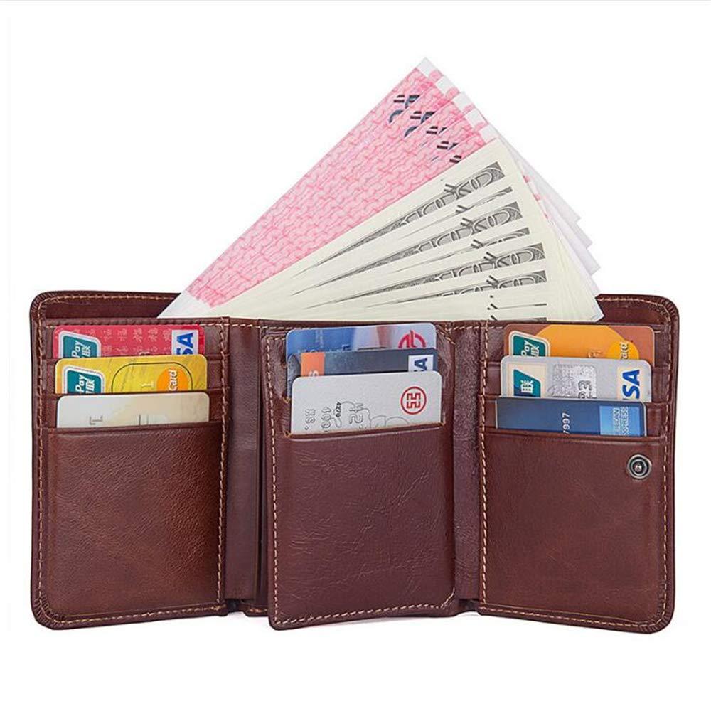 Billeteras Carteras Hombre Cuero, Tarjetas de Crédito Slim ...