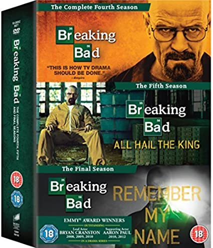 Breaking Bad: The Final Seasons DVD by Bryan Cranston: Amazon.es: Joan Hickson: Cine y Series TV