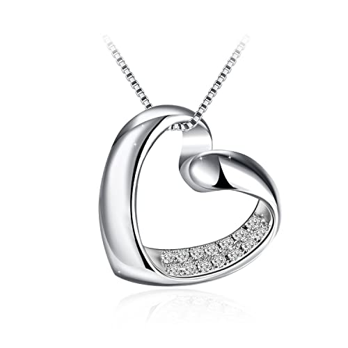Necklace ZHULERY Pendant Necklace for Women 18