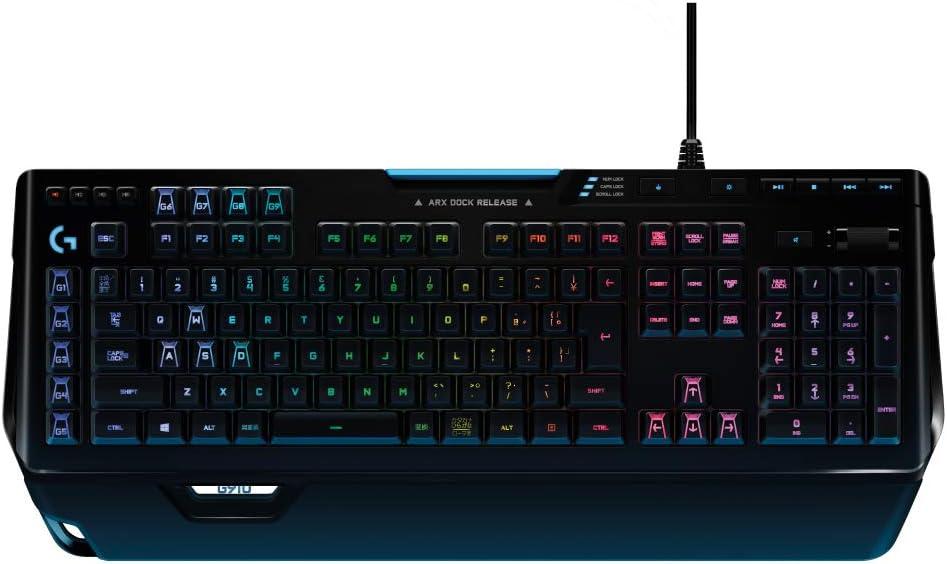 Logicool G PRO X ゲーミングキーボードG910 Spectrum