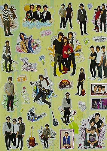 Jonas Brothers Magic Stickers Set