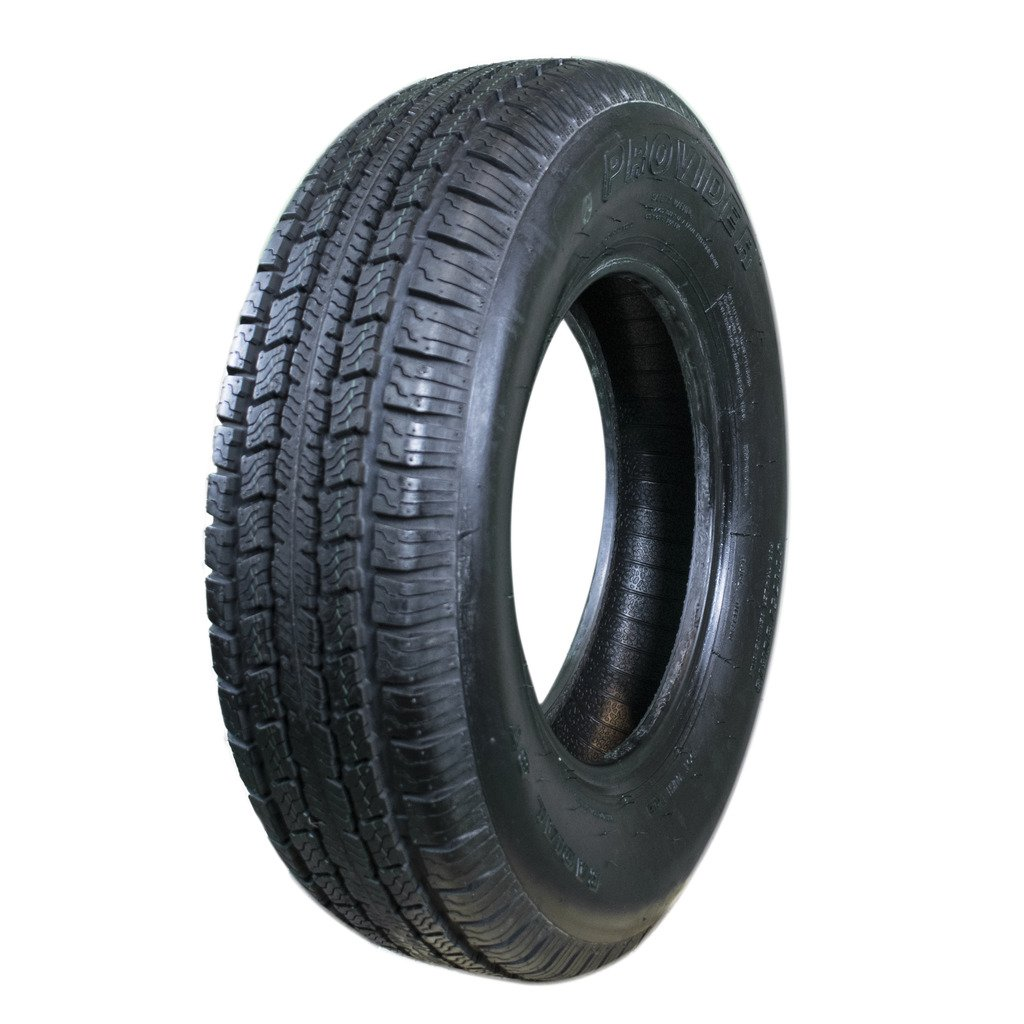 Provider ST175/80R13, Load Range C, 6 PLY Trailer Tire