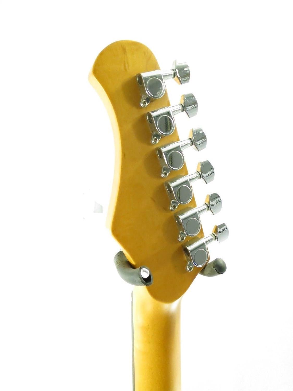 EFFIN guitarras oldsmelly/FR Vintage fiesta rojo acabado Deluxe Guitarra Eléctrica: Amazon.es: Instrumentos musicales