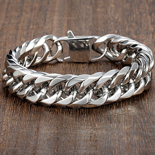 The 8 best men's bracelets stainless steel