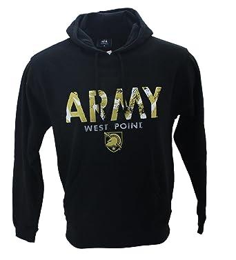 87d25ec7d13bd7 Amazon.com  J. America Army West Point Knights Men s Black Sweatshirt Hoodie   Clothing