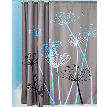 Mokylor Dandelions Fabric Shower Curtain Waterproof And Mildew Resistant