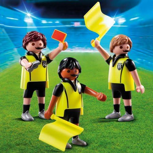 Playmobil Fútbol - Fútbol Trío Arbitral (4728): Amazon.es: Juguetes y juegos