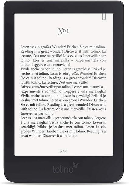 Tolino Shine 3 Ebook Reader Touchscreen 8 Gb Schwarz Elektronik