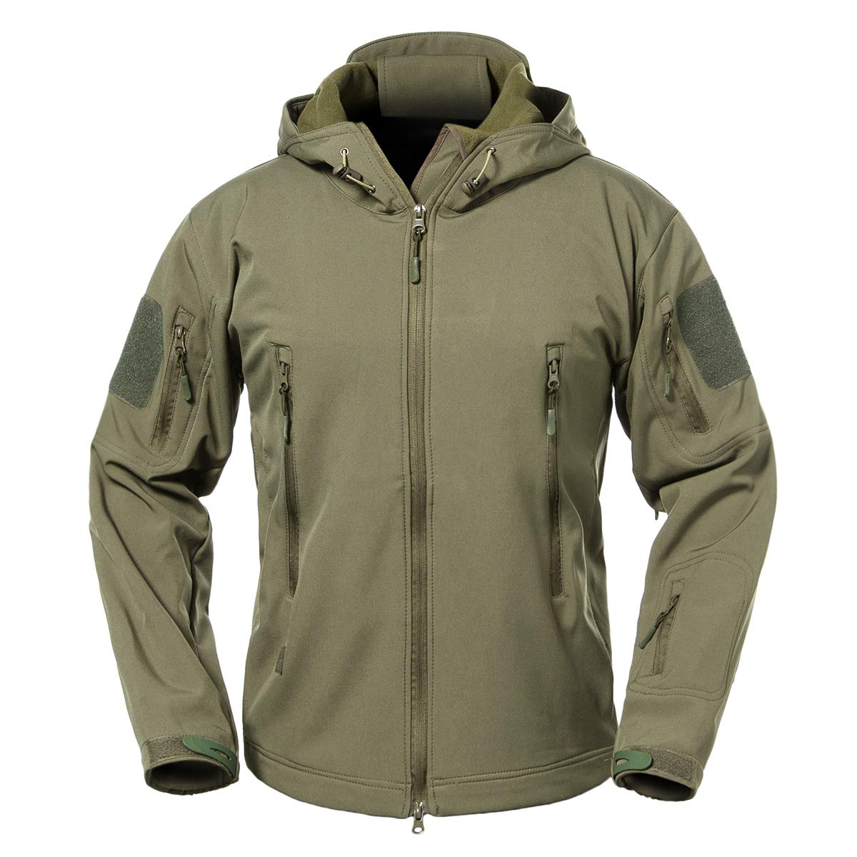 b01ddfd5e5f34 Outer Shell: 94% Polyester, 6% Spandex; Lining: 100% Polyester Zipper  closure. We compare the jacket's tag size with US size. Size US S =Tag M;  US M =Tag L; ...