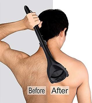 Afeitadora de cabello para hombres con cuchillas dobles, mango ...
