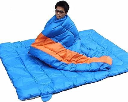 Suhagn Schlafsack Schlafsack Schlafsack Im Freien Camping Erwachsene Deformierten Warme Dicke Baumwolle Schlafsäcke Doppelschlafsack Red Hot Bleu Chaud Amazon De Sport Freizeit