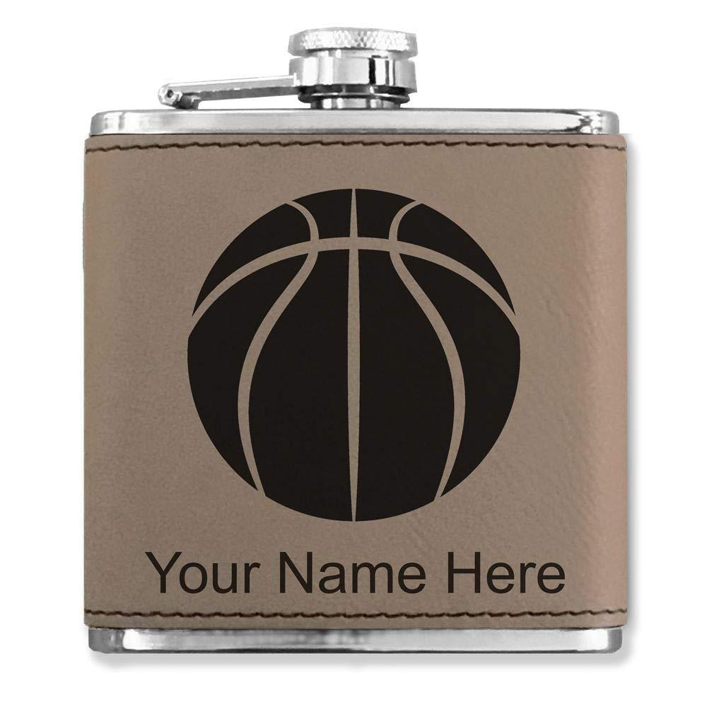最新最全の フェイクレザーフラスコ – – B072BBM9C1 バスケットボールボール – – カスタマイズ彫刻Included (ライトブラウン) B072BBM9C1, おまかせオフィス:9bc3dbfd --- a0267596.xsph.ru