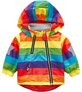 70978554f Amazon.com  WARMSHOP Toddler Boys Girls Coat