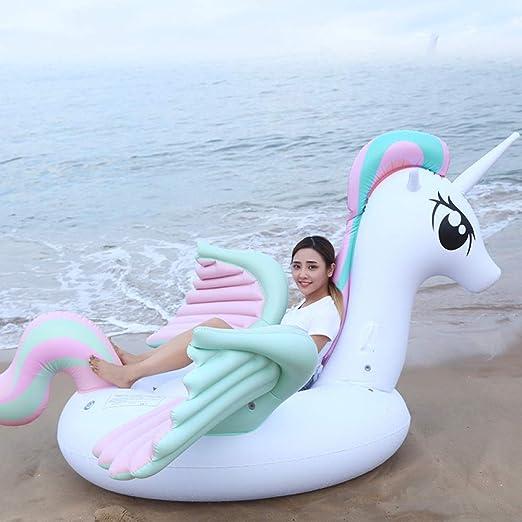 SKY FLO Flotador Unicornio Adulto,Unicornio Hinchable, para ...
