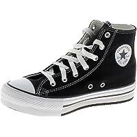 Converse Chuck Taylor All Stars Hi Top Eva Junior Black/White Trainers
