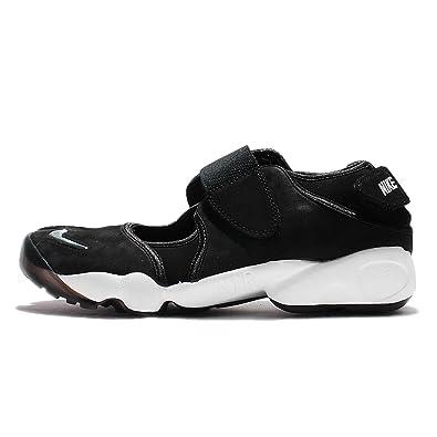 Nike Mens Air Rift Anniversary QS Black/Metallic Silver Suede Size 11