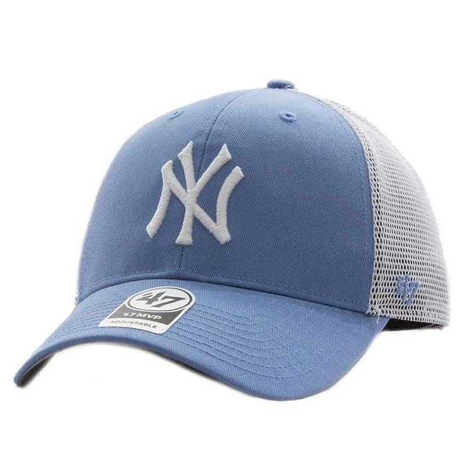 47 Gorra Trucker Azul Claro de New York Yankees MLB MVP Branson ...