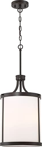 Nuvo 60 6326 Three Light Pendant, 3, Bronze Dark