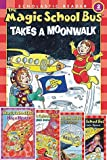 img - for The Magic School Bus Level 2 Reader Set of 5 Paperbacks Includes Takes a Moonwalk, Has a Heart, Fights Germs, Blasts Into Space & Inside a Volcano book / textbook / text book