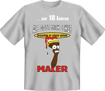 Lustiges T Shirt Zum 18. Geburtstag Für Maler   Witzige Geschenk Idee Für  Handwerker