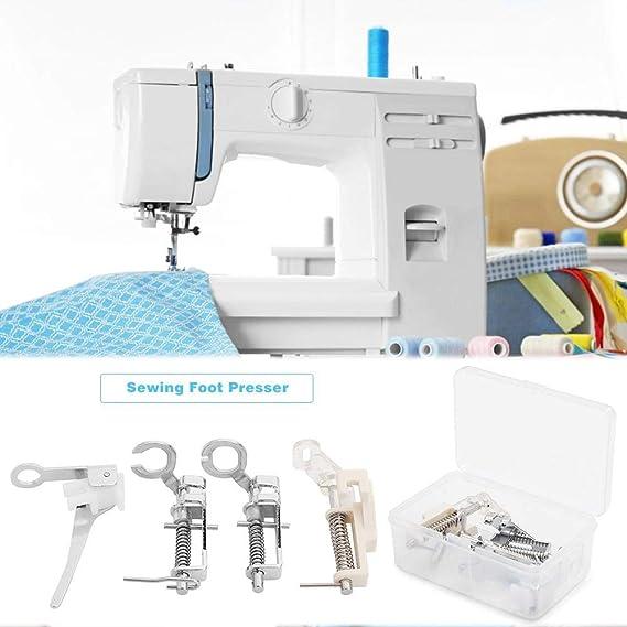 Broadroot. 4pcs Prensatelas Universal, Pie de maquina de coser ...