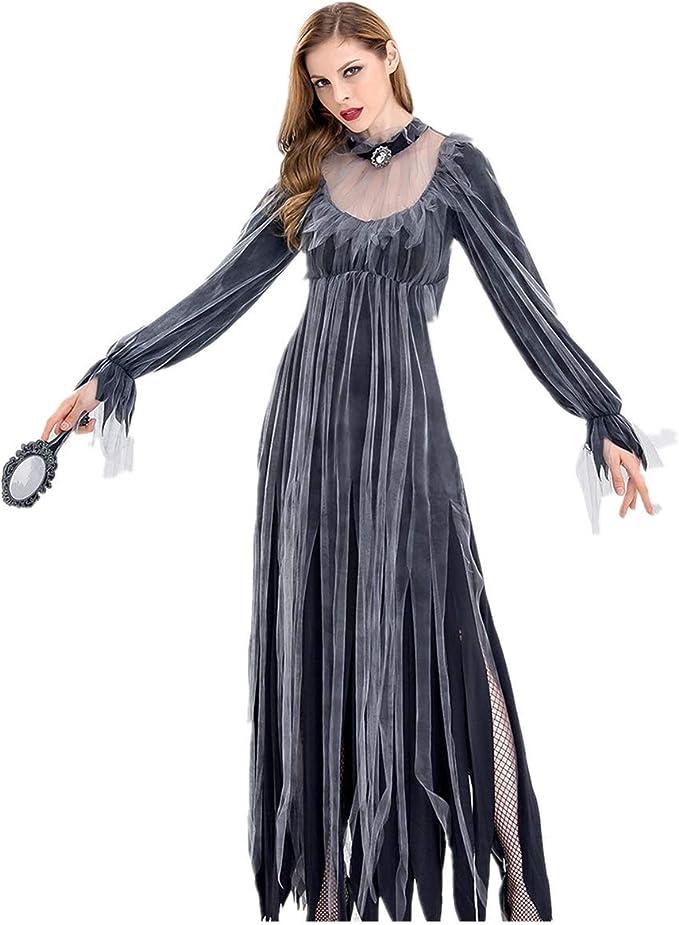 Surfiiy - Disfraz de vampiro de Halloween para mujer, vestido de ...
